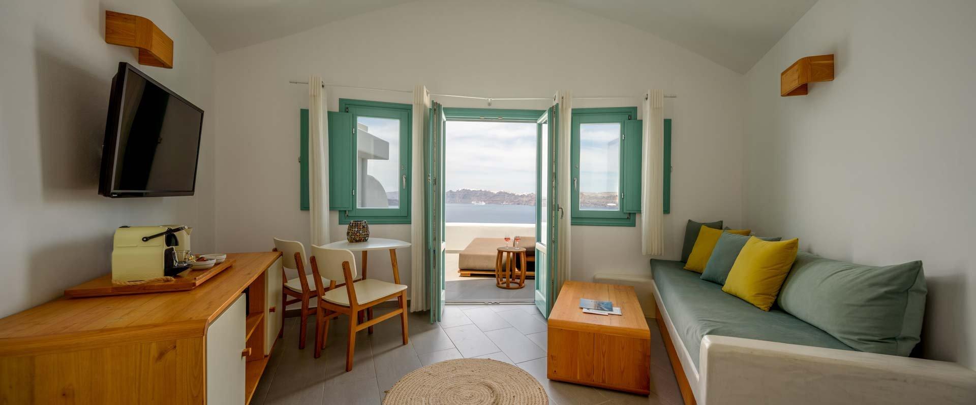 Premium Spa Suite - Living Room