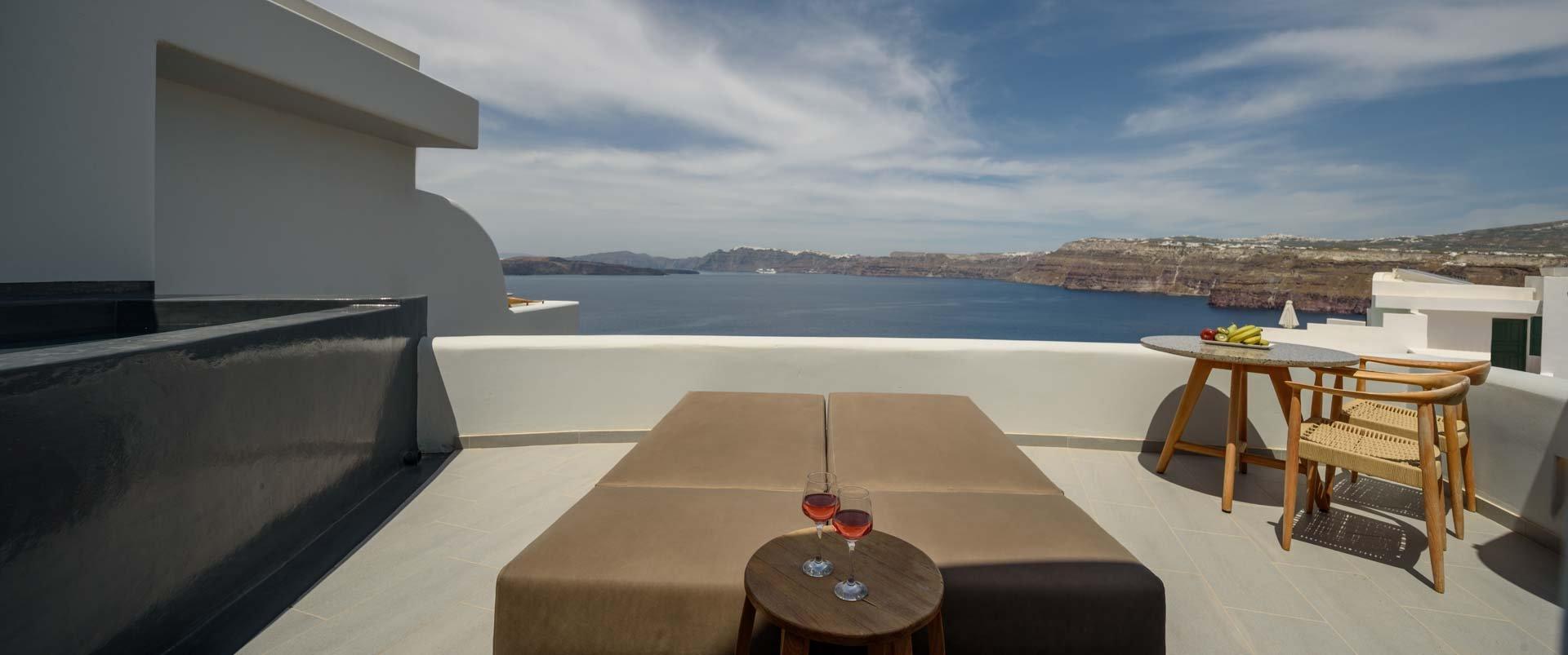 Premium Spa Suite - Caldera view