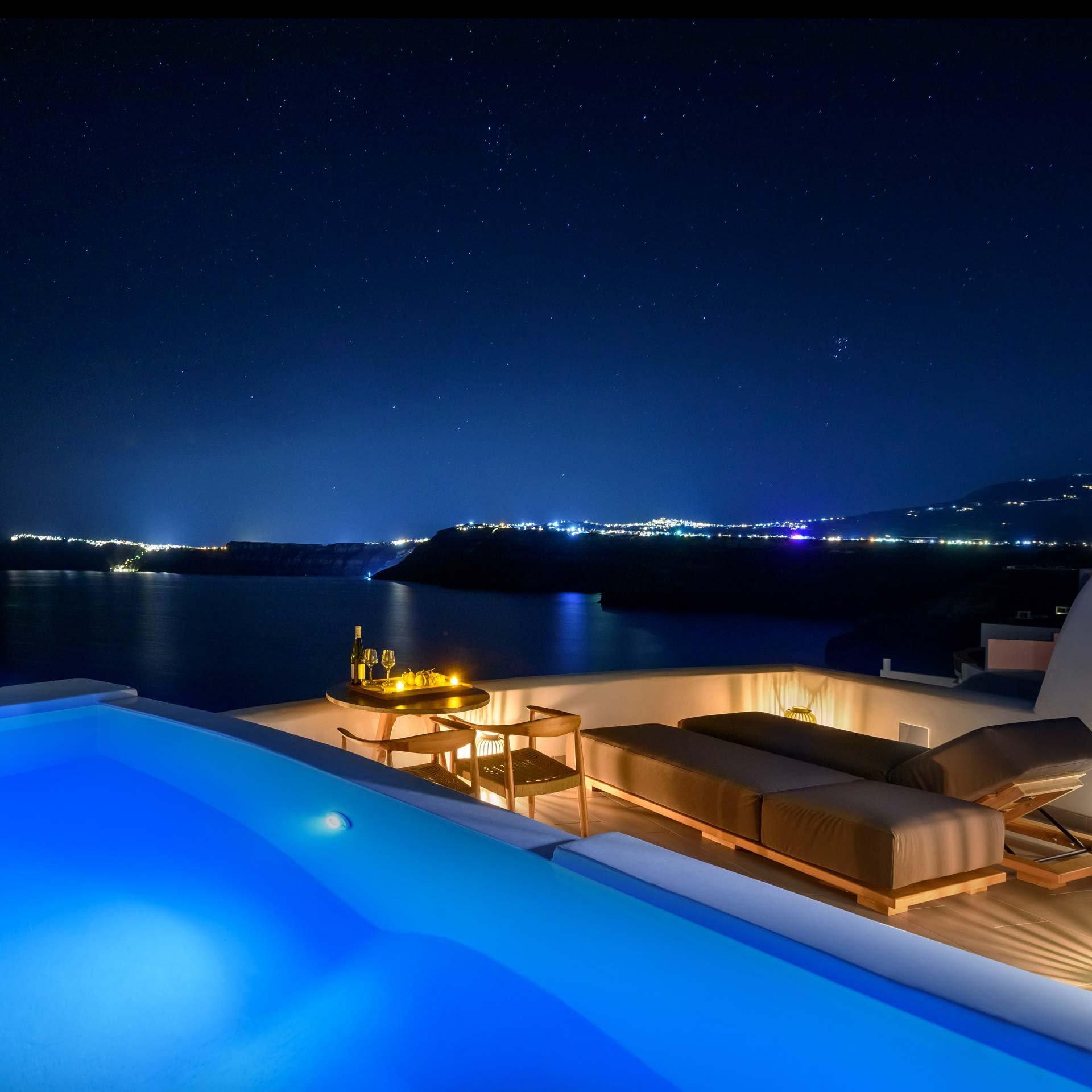 Premium Spa Suite - Night view