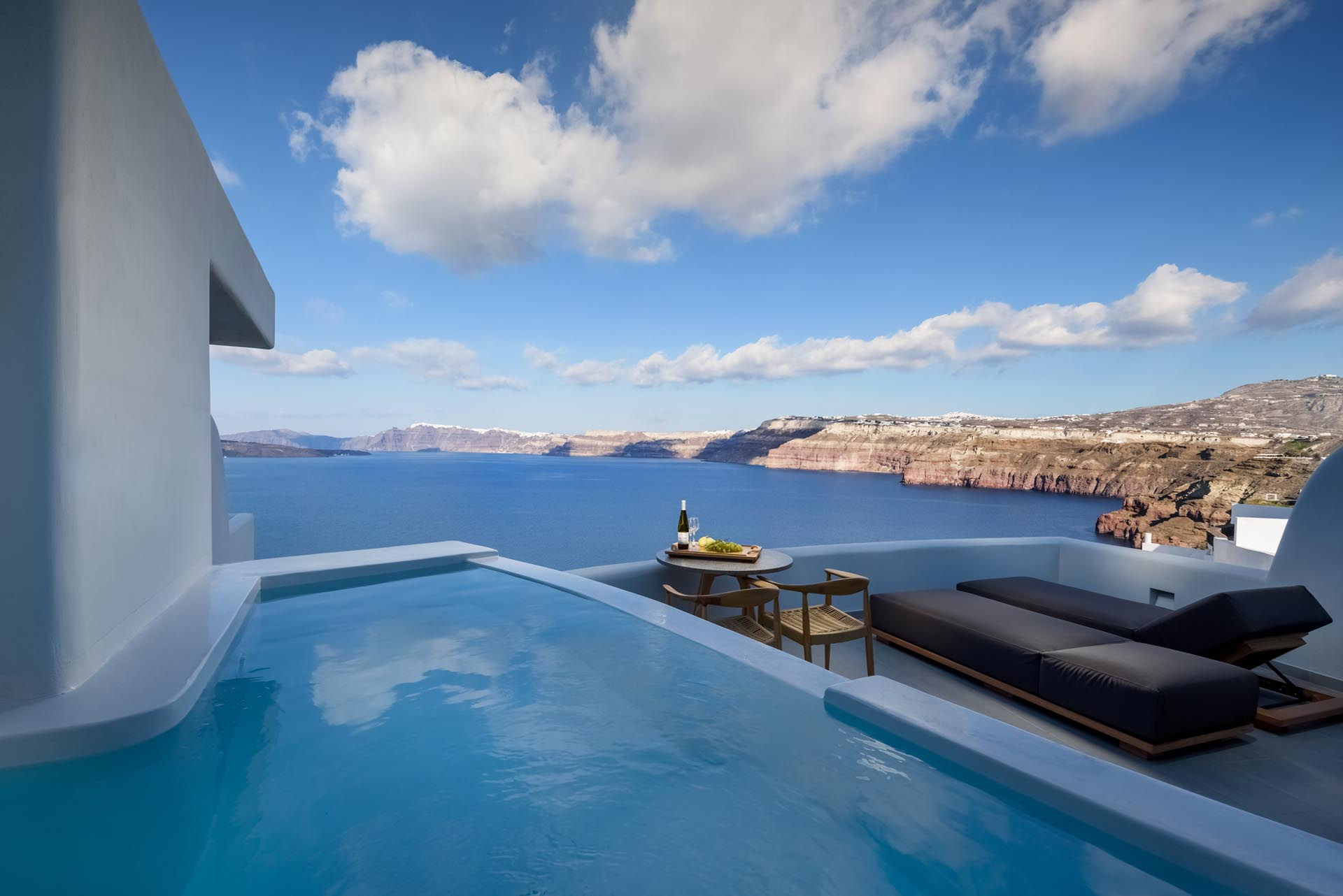 Neptune Luxury Suites in Akrotiri of Santorini island